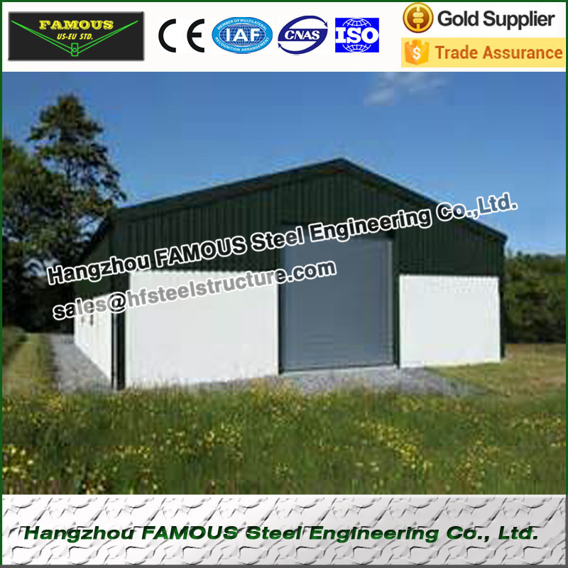 Prefabricated Steel Structure House For Accommodation Or Storage Area