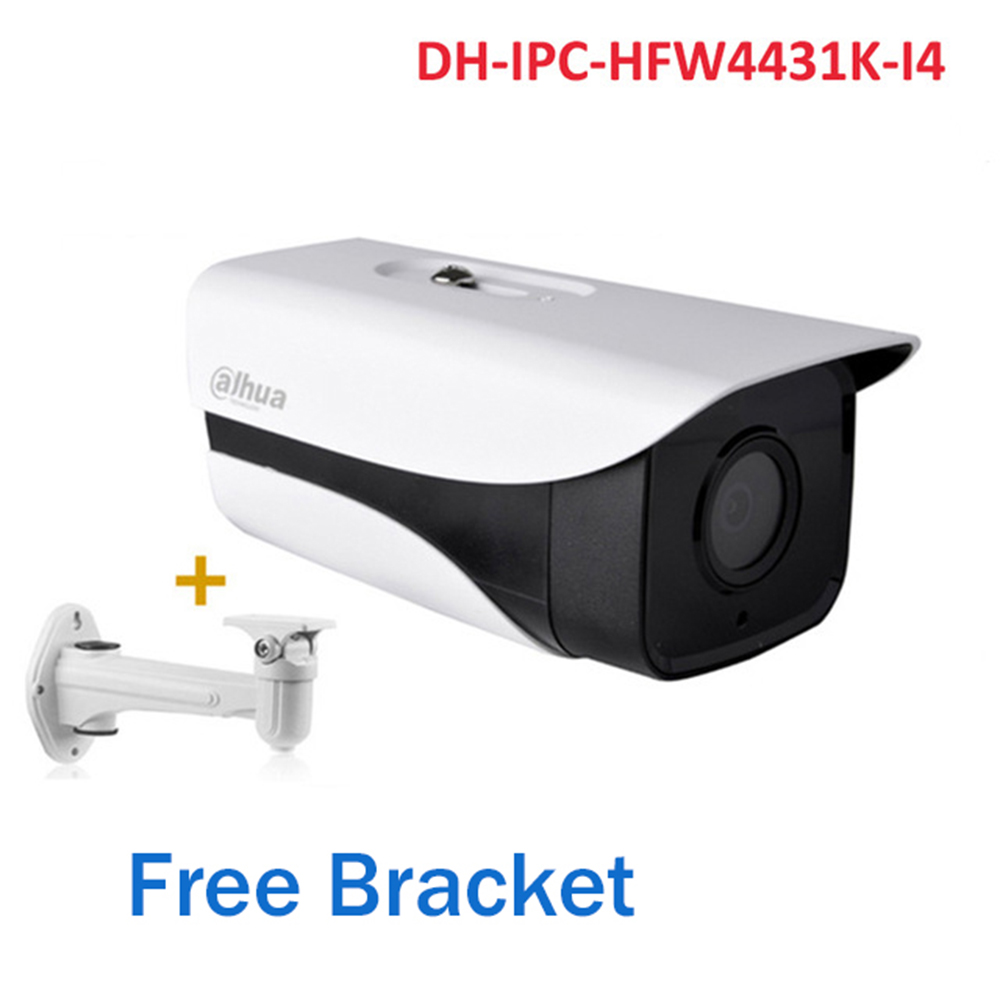 DH DH-IPC-HFW4431K-I4 4MP PoE IP Camera 50M IR Bullet Security CCTV Network Camera free bracket IPC-HFW4431K-I4DH DH-IPC-HFW4431K-I4 4MP PoE IP Camera 50M IR Bullet Security CCTV Network Camera free bracket IPC-HFW4431K-I4