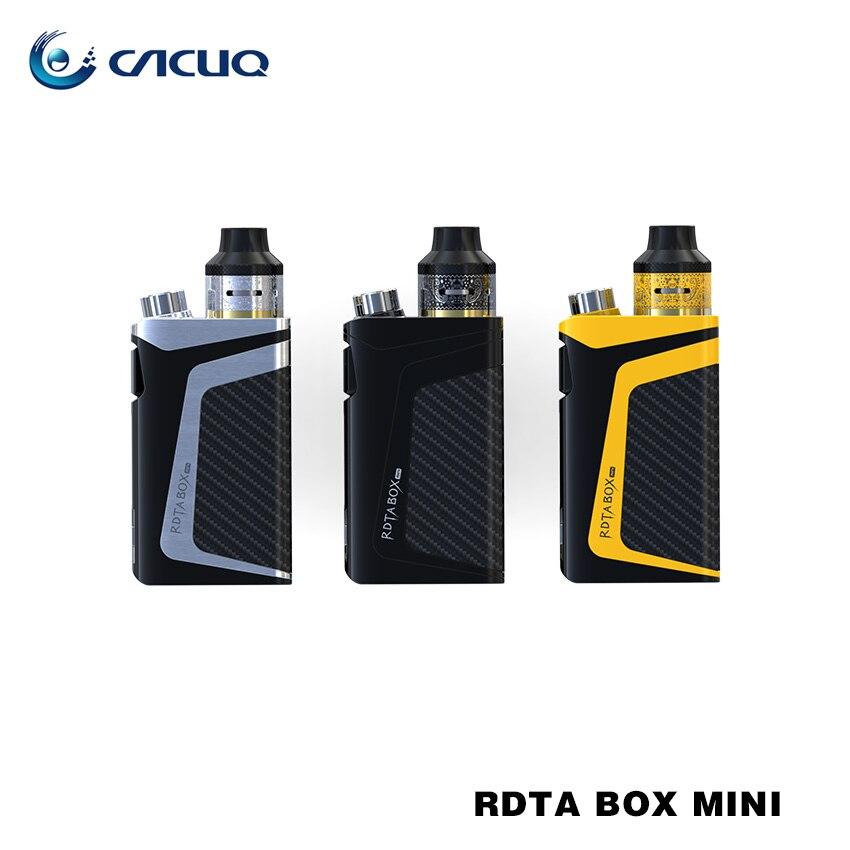 Original iJoy RDTA Box Mini Kit 100W with Built-in Li-Po 2600mAh battery 6ML e-juice tank IBM-C2 Coil BOX MOD Vape Kit