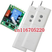 Long Distance 3000m AC 220V 30A 3000W 1CH Wireless Remote Control Switch 315MHz 433MHz Radio Frequency 2 Transmitter & Receiver(China)