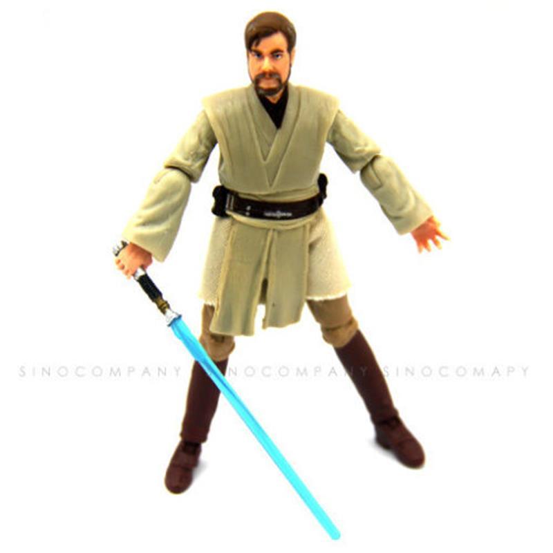 Free Shipping Original Star Wars Biggest Obi-Wan Kenobi Model PVC Toy 3.75