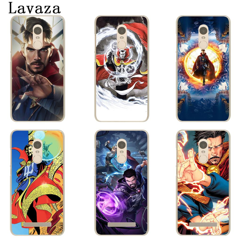 Half-wrapped Case Lavaza Dr Marvel Comics Doctor Strange Hard Phone Case For Xiaomi Redmi 5 Plus 6a 4a S2 Note 5a Prime 3 5 6 Pro 4 4x 7 Cases