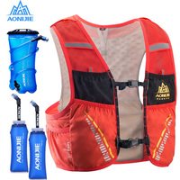 AONIJIE 5L Trail Hydration Vest Backpack Hiking Cycling Camping Marathon Rucksack Bag Running Bag