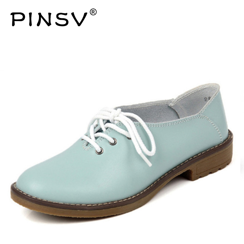 Hot Sale 4 Colours Women Flats Shoes Cow