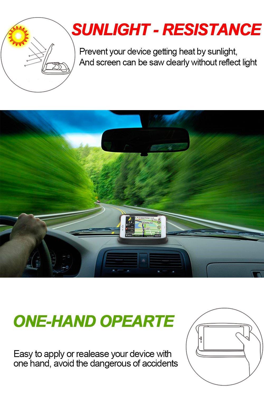 SONNENSCHUTZ HALTERUNG Auto 3-7/'/' PDA GPS Handyhalterung Halter PKW KFZ Schwarz