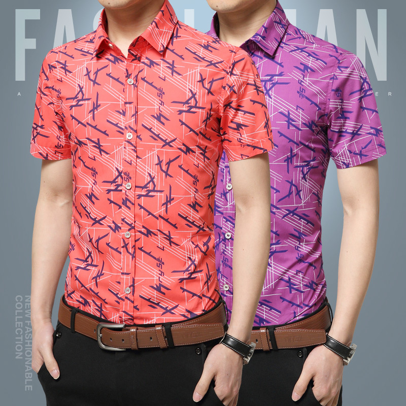 16527704fb3 GUEQI Brand Spring Men s 100% Cotton Business Anti wrinkle Shirts Men Casual  Slim Fit Shirt Fashion Camisa Masculina M 4XL D1718-in Casual Shirts from  Men s ...