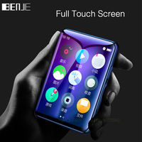 BENJIE X6 Full Touch Screen MP3 Player 4GB 8GB Music Player With FM Radio Video Player E book Player MP3 With Built in Speaker
