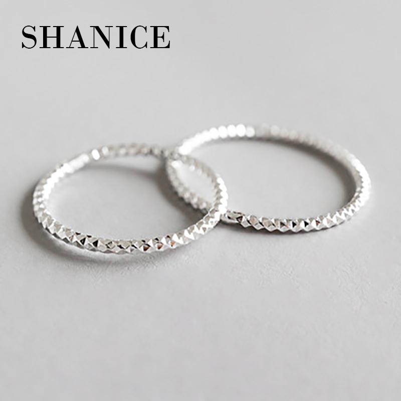 SHANICE 100% Real Pure 925 Sterling Silver Rings