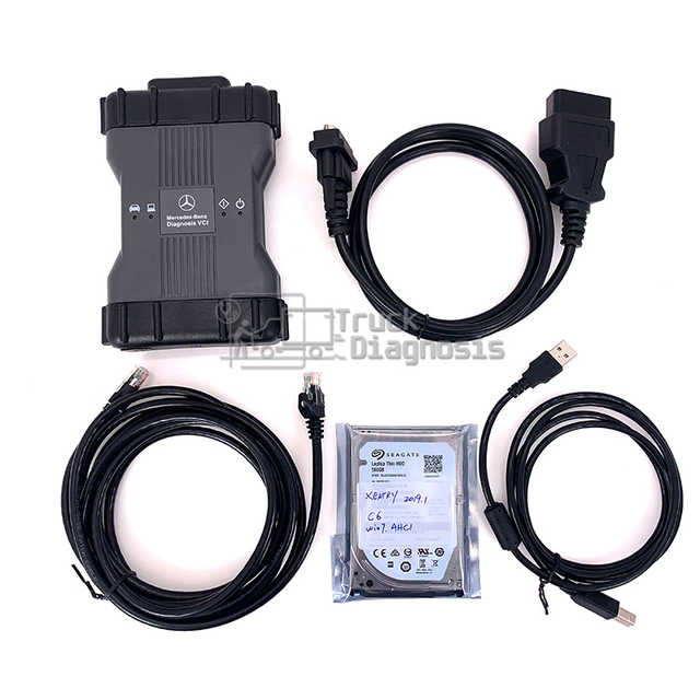 VXDIAG C6 for Benz MB STAR C6 Multiplexer mb SD Connect C6 OEM DOIP