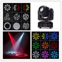DHL Free Shipping 1pcs LED Pocket Spot Mini Moving Head Light 10W DMX Dj 8