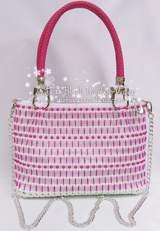 Diy handmade beaded bags finished product beads pearl beaded bag bags new  arrival-in Shoulder Bags from Luggage & Bags on Aliexpress.com | Alibaba  Group