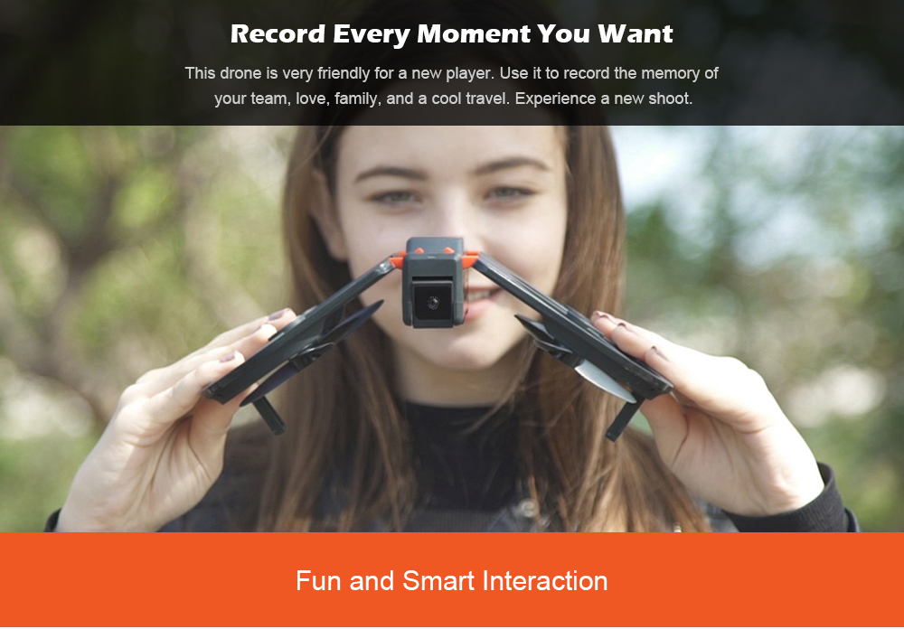 Xiaomi Idol Intelligent Aircraft Ai Recognition Gesture Photo Folding Portable Drone 13