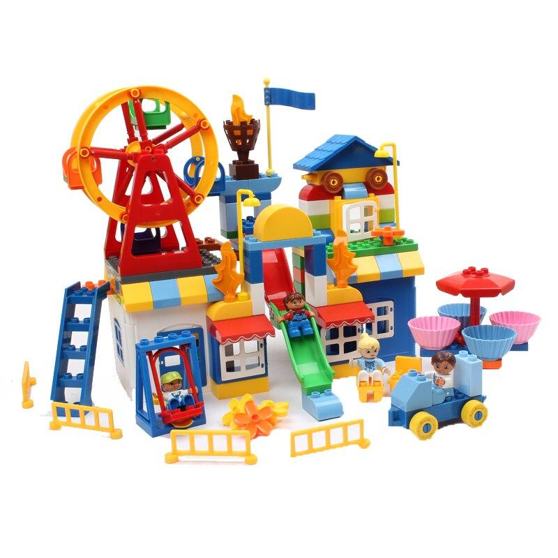 158 pcs Grand Briques Ferris Wheel Amusement Park Pour Creative - Concepteurs et jouets de construction - Photo 5