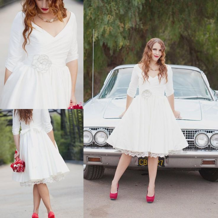Vintage Plus Size Short Wedding Dresses – fashion dresses