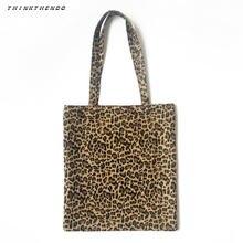Thinkthendo модная женская Холщовая Сумка через плечо сумка