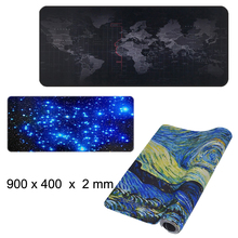 Viviration 900x400 Mouse Pad Rubber New Xl Size Mousepads For Trackball Laser Speed Keyboard Large Desk Mat Overwatch