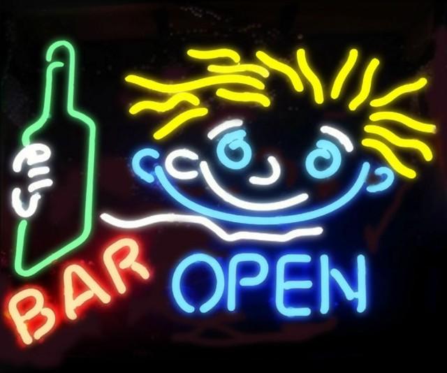 Custom Pub Bar Open  Neon Light Sign Beer Bar