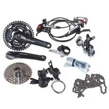 SHIMANO DEORE M610 3 10 Скорость Список Групп С M615 Гидравлический Дисковый Тормоз MTB Горный Велосипед