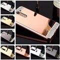 Для LG Spirit случае алмаз Роскошь Розовое Золото Зеркало Чехол Для LG дух 4 Г LTE H440N H420 C70 Заднюю Обложку Для LG Spirit Случае
