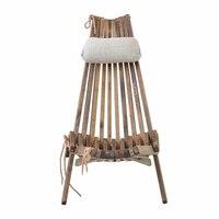 Открытый деревянный складной стул Lounge с подушки детские и сиденья мебель пляжные стул Foldale патио балкон деревянный