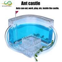 MYHOESWD Ant Maze Castle Desktop Toys Kids Observation Training Funny Toy for Girls Early Resolving Anxiety Anti stress Toys Ant