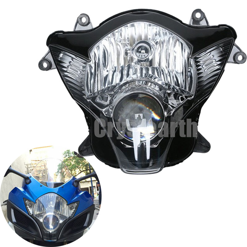 Motorcycle Headlight Head Light Lamp For Suzuki GSXR 600 /750 2006-2007 GSXR600 GSXR7500 GSX-R600 GSX-R750 K6 K7 Headlamp black rear pillion seat cowl cover for 2006 2007 suzuki gsxr gsx r 600 750 k6