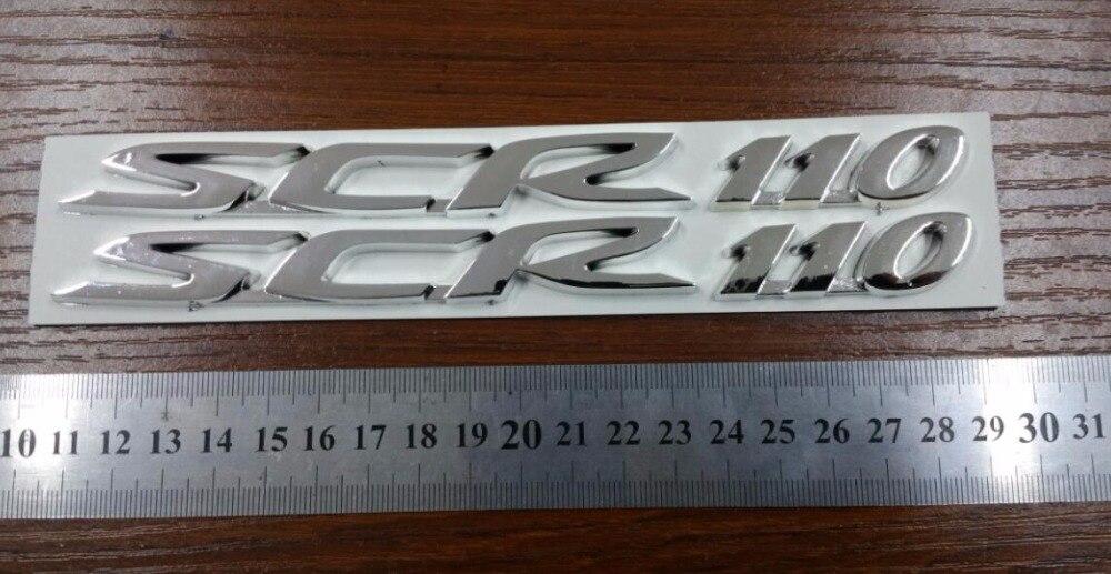 SCR110 3D STICKER VOOR MOTOCYCLE SCR110 VOOR Honda NIEUWE SCR110 - Motoraccessoires en onderdelen