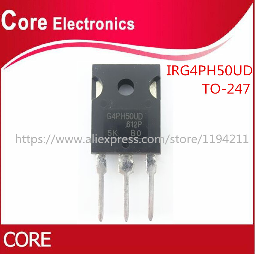 50pcs/lot IRG4PH50UD G4PH50UD IGBT 1200V TO 247-in Integrated Circuits from Electronic Components & Supplies