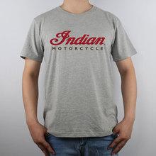 Indische Motorrad logo indian motorcycle T-shirt Top Reiner Baumwolle Männer t-shirt Neue Design Hohe Qualität