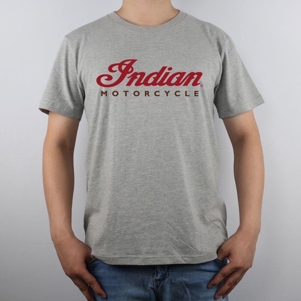 Shirt design china - Indian Motorcycle Tank Logo Indian Motorcycle T Shirt Top Pure Cotton Men T Shirt New