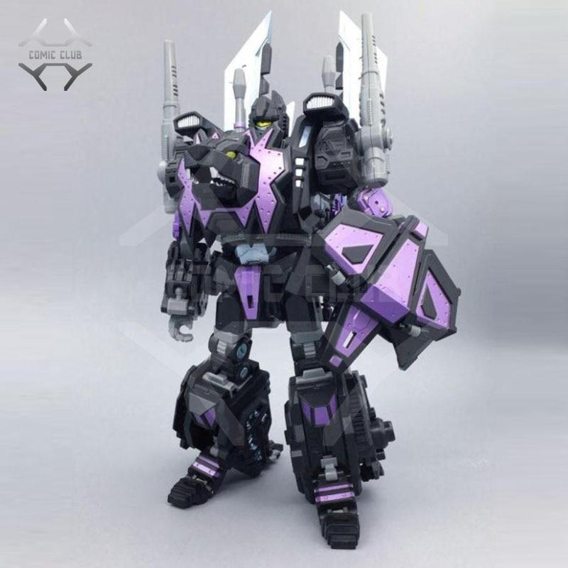 COMIC CLUB IN STOCK neoart toys ko MMC Transformation robot dark black Predaking sharp claws