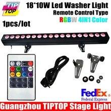 18×10 Вт RGBW Wireless DMX шайбы Стены/крытый led wall washer/свадебные аплайты беспроводной 200 Вт OEM Доступны с Пульта дистанционного управления