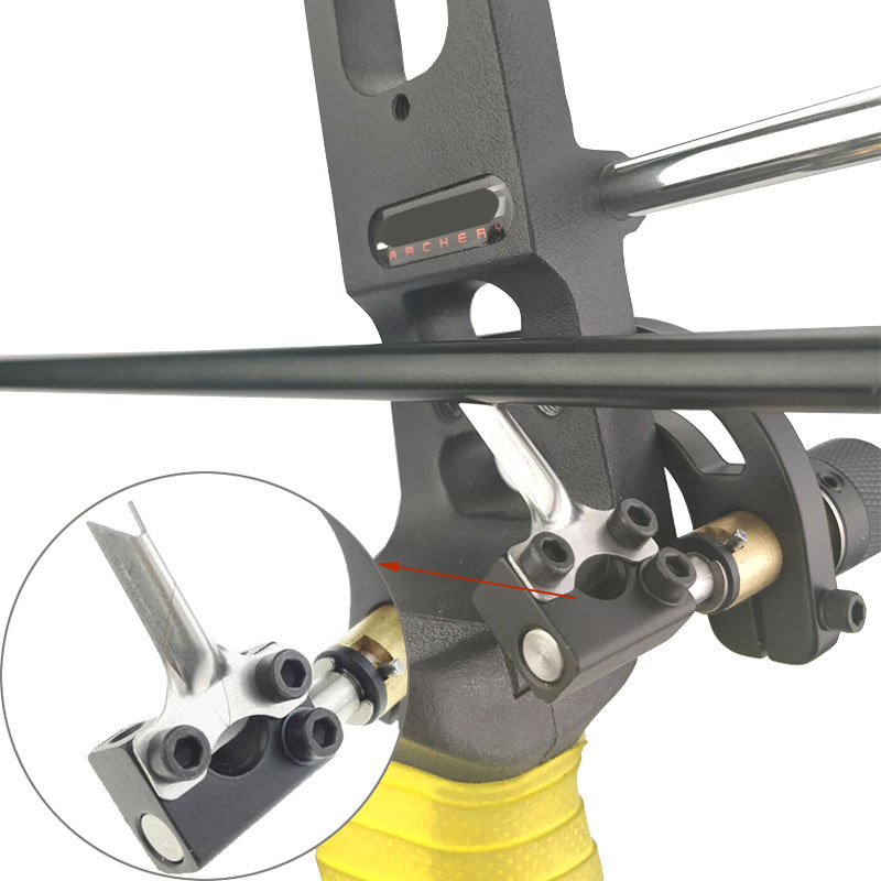 Adjustment Right Hand Archery Bow Drop Away Arrow Rest for Recurve Compound Bow Shooting Hunting with Spanner Steel Arrow Rest new bow drop away fall away arrow rest for archery hunting shooting training compound bow accessories with cnc aluminum alloy