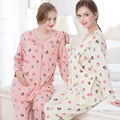 muqian for pregnant women Sleepwear Pajamas pregnant Maternity Nursing Breast Feeding postpartum open up clothes sets Pregnancy