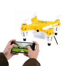 Lishitoys L6058 Quadcopter Tiny Pocket Mini Drone With Profissional Wifi FPV Live 0 3MP Camera Rc