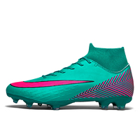 High Tops Soccer Cleats Boots Football Boots Long Spikes & Short Spikes Men's Football Shoes Sneakers Indoor Turf Futsal