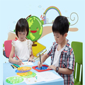 Spirograph DIY Drawing Board Drawing Tools Toy Stencils For Painting Magic Pen Ruler Sketchers Learning Educational Toys