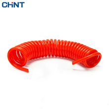 CHINT Pneumatic Spring Tube Air Pump Press PU Spiral The Resistance High Pressure Hose Bring Fast Joint