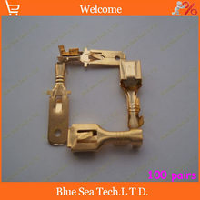 6.3 Male&Female Crimp terminal Connectors 6.3mm terminals,car connector Spade terminal,Good