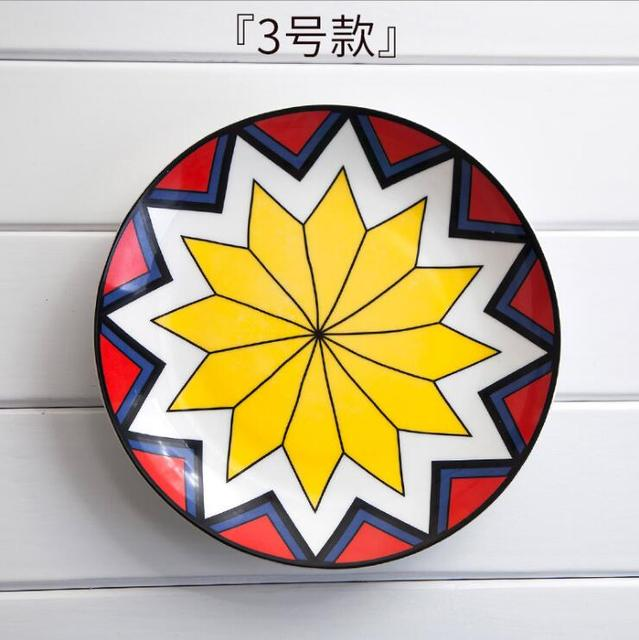 Creative ceramic dish hanging plate wall decoration Western dessert ...