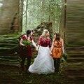 Великолепная Белое Свадебное Юбка Сшитое Line Длина Пола Длиной Макси Юбка Многоуровневое Ruffles Тюль Юбки Женщин