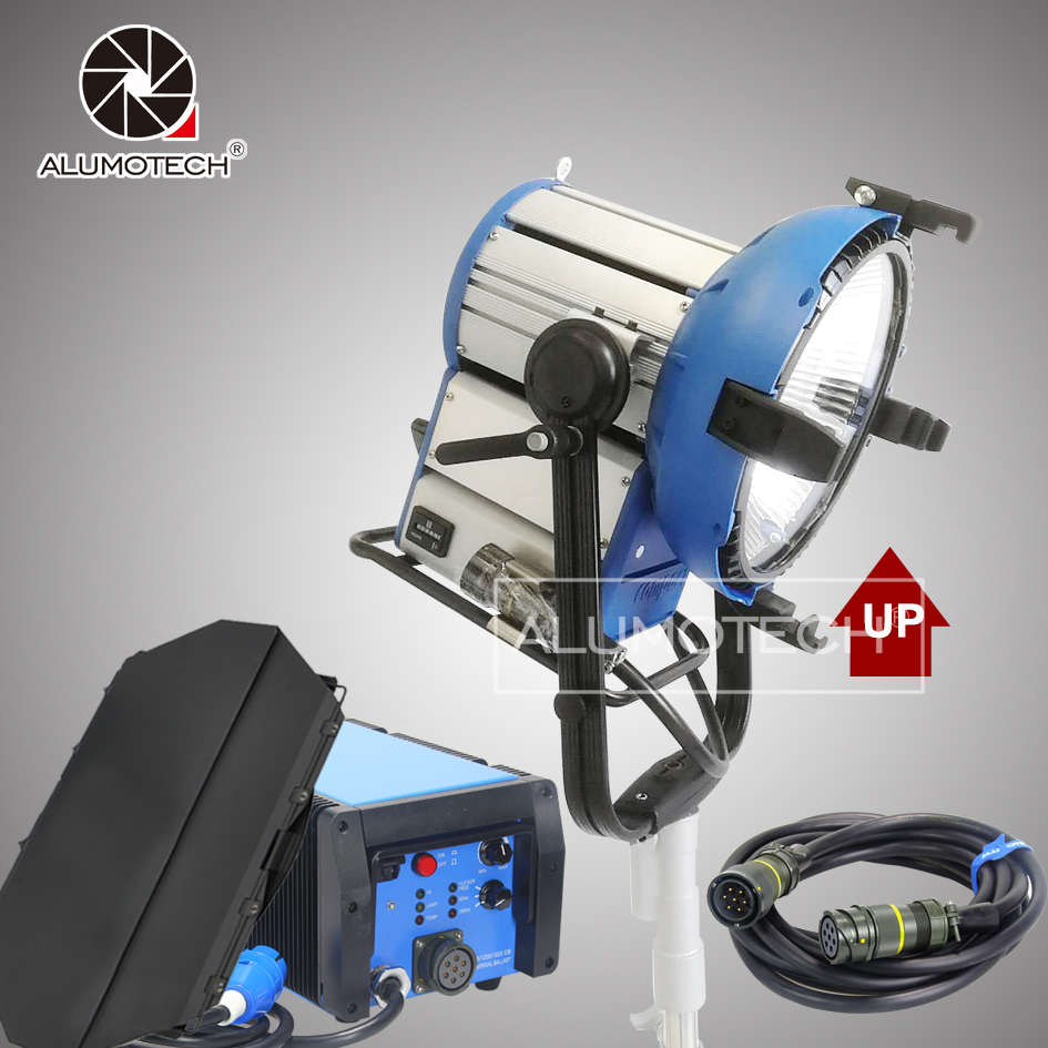 As M18 HMI Par Light With Timer 1200W 1800W Electronic Ballast Flicker Free Cable Continous Lighting
