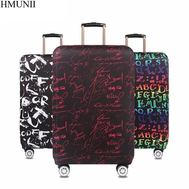 Vintage Beautiful Roses Travel Luggage Cover Stretchable Pulling Cloth Suitcase Protector Fits 18-20 Inches Luggage