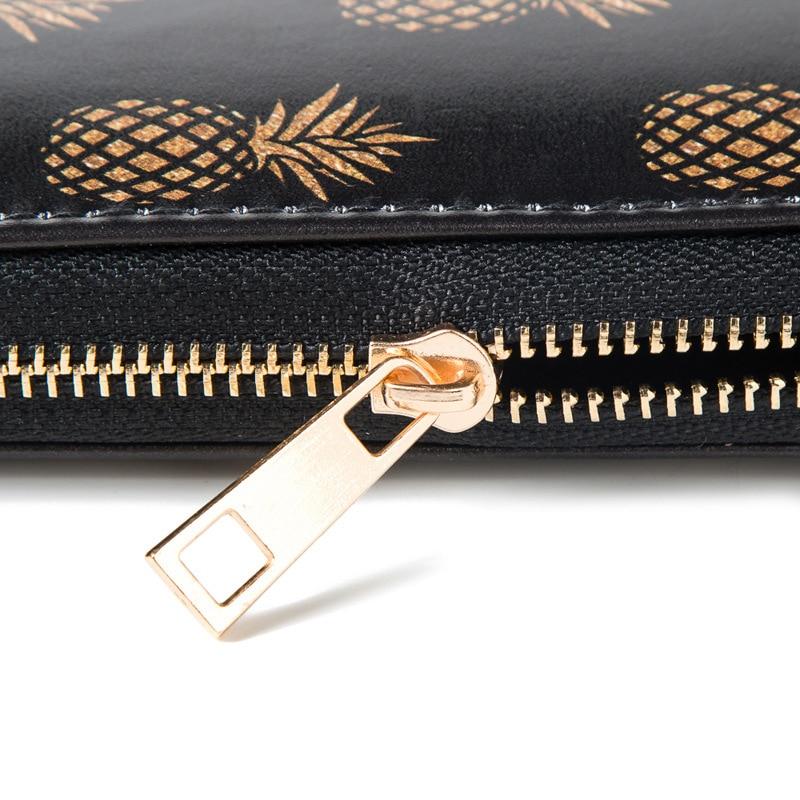 Artmi Women Wristlet Lady Kreditkort Hållare Läder Kontant Plånbok - Plånböcker - Foto 3