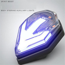 SPIRIT BEAST CB190 Motorcycles Highlight Warning Lights 12V Waterproof Lights Motocross LED Lights Modified Styling Accessories все цены
