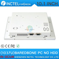 2015 new product White LED computer Touch screen All in one pc with White Color 1037u processor Windows linux barebone pc