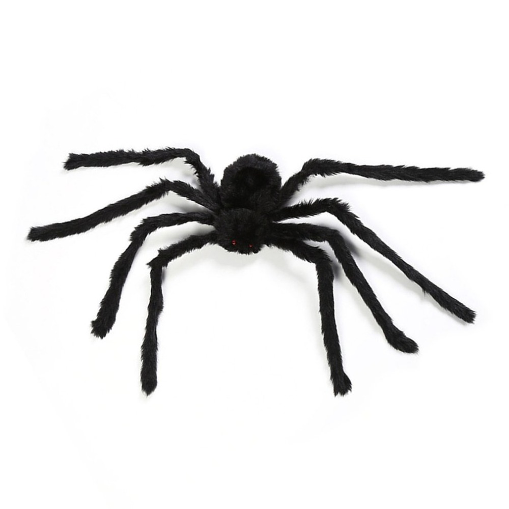 Halloween Props Fake Spider For Haunted House Bars Decorative Supply Simulation Scary Plush Spiders Tricky Toys