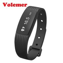 Volemer Водонепроницаемый Smart Band D08A шагомер Фитнес Tracker устройств браслет сердечного ритма Приборы для измерения артериального давления Мониторы смарт-браслет