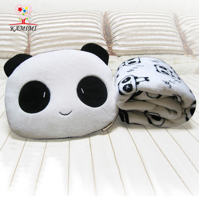 KAMIIMI Baby Blanket Cute Cotton Animal Baby Blankets Baby Kids Air Conditioning Blanket Hold Pillow Set XYM394
