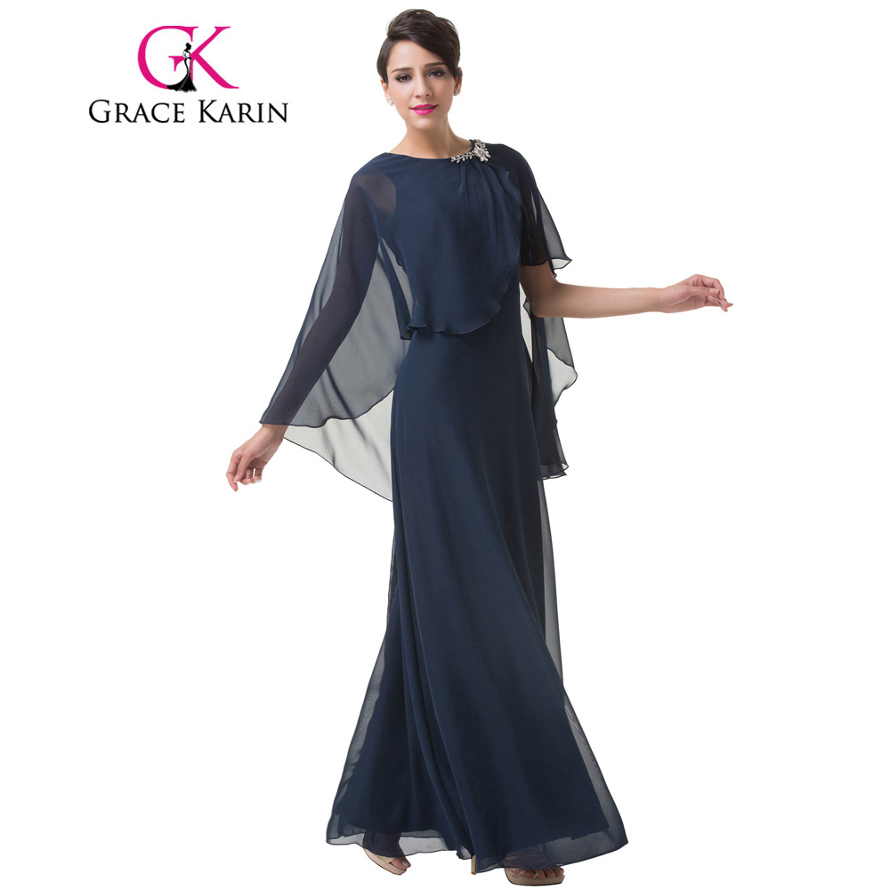 Long dress cape grace
